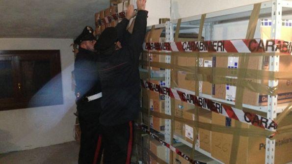 Sequestrati migliaia di prodotti pericolosi per la salute a Grumo e Bitritto