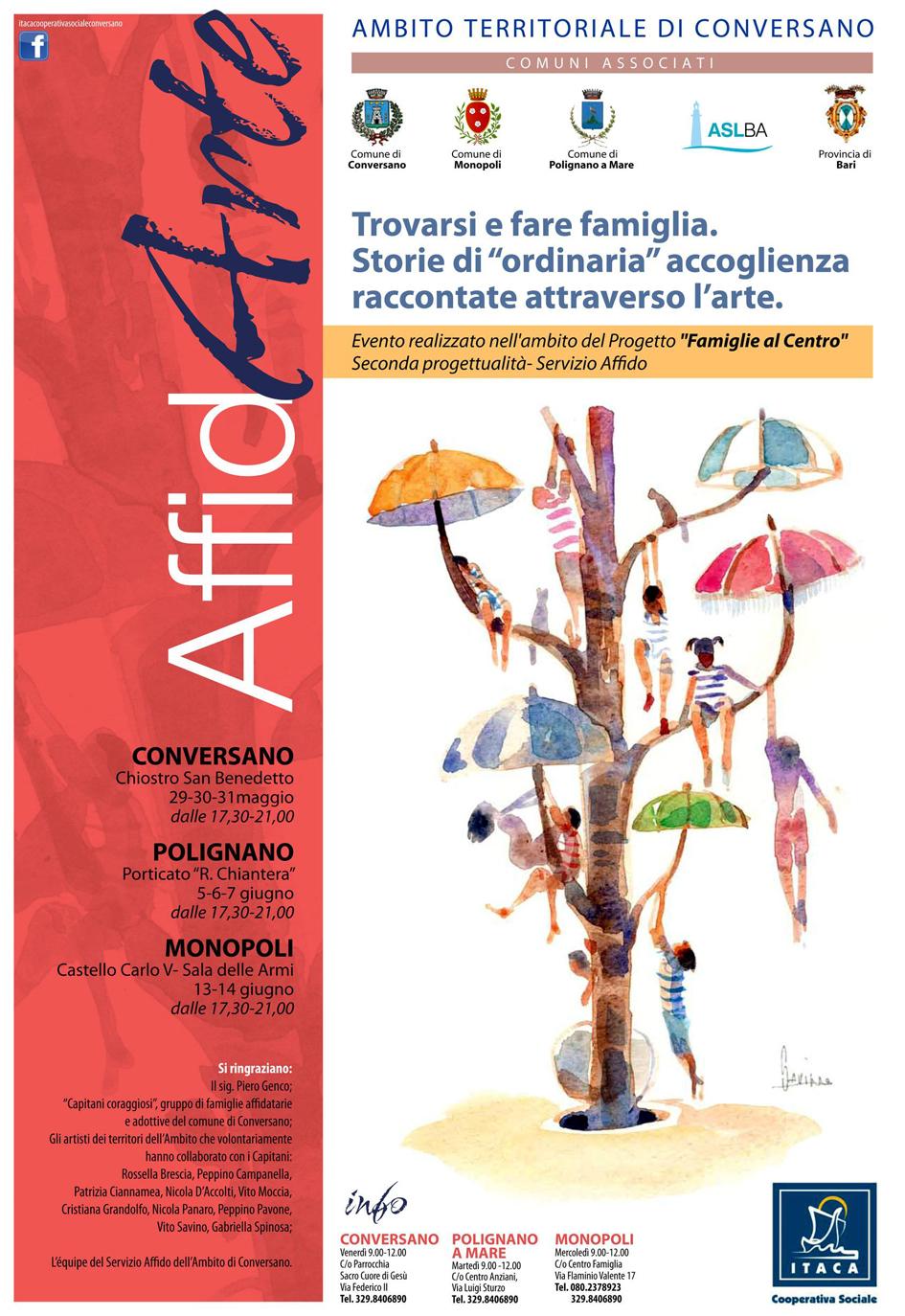 """Famiglie al Centro con """"Affid_Arte"""""""