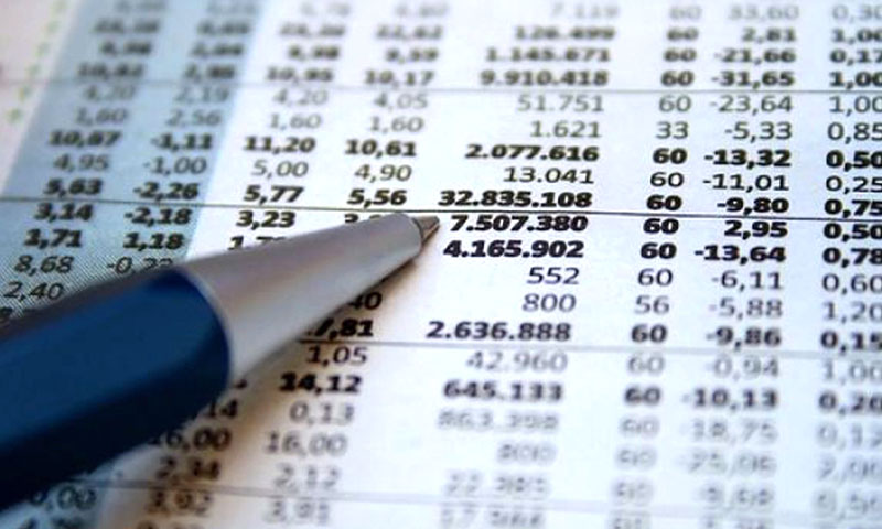 bilancio numeri