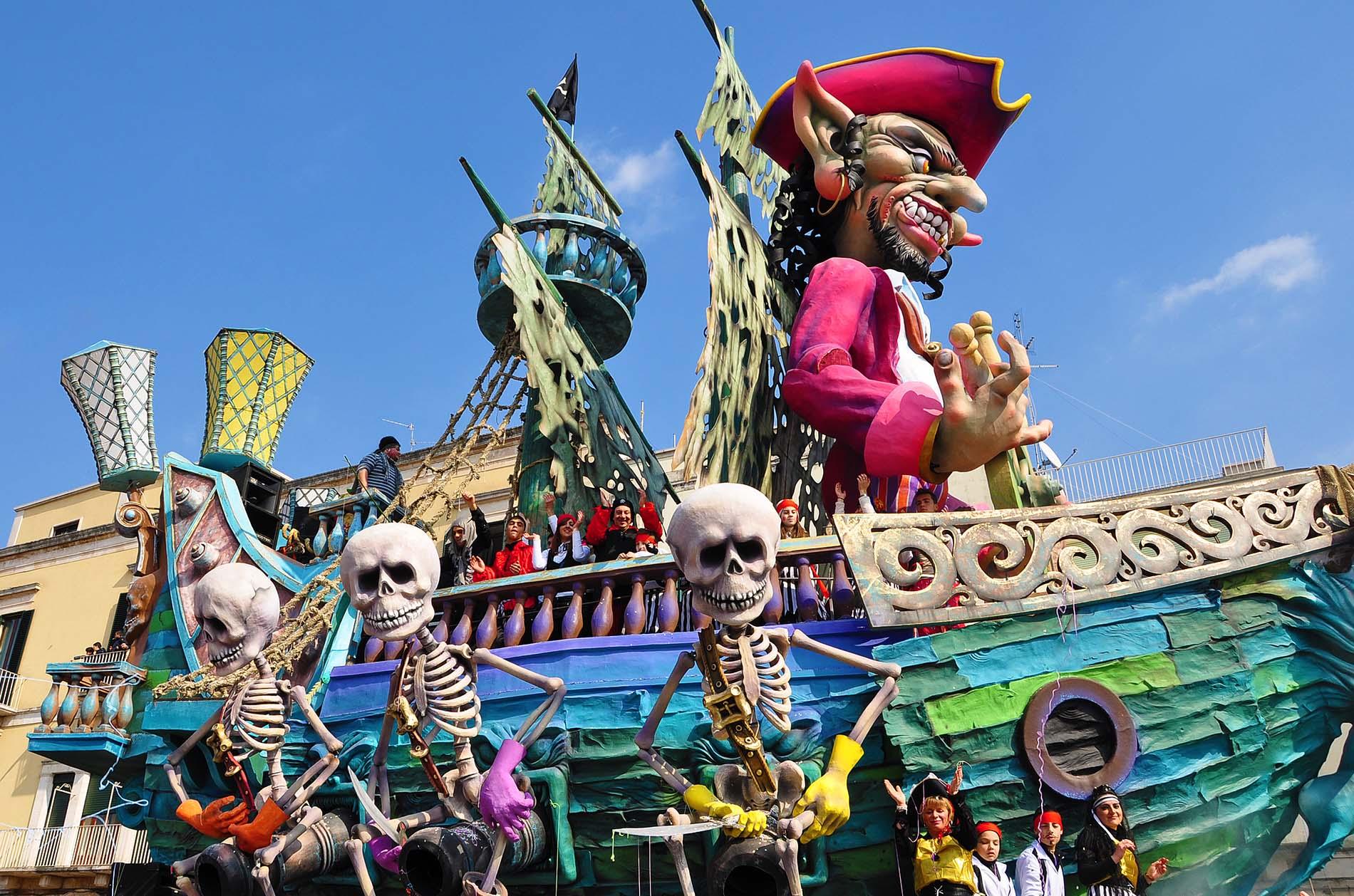 Carnevale Putignano: sabato di S.Stefano al via con le propaggini